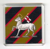 QUEEN'S ROYAL REGIMENT OF WEST SURREY FRIDGE MAGNET